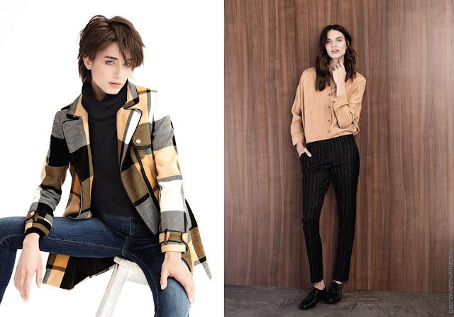 Tapados otoño invierno 2018. Ropa de moda para mujer invierno 2018.
