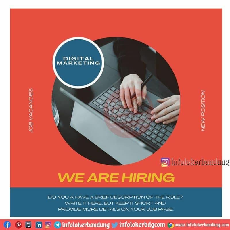 Job Vacancies Digital Marketing Usaha Bersama Textile Bandung April 2021