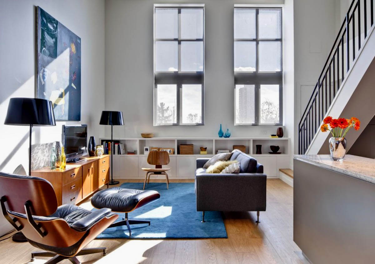 interior design information: Contemporary Canadian Loft ...