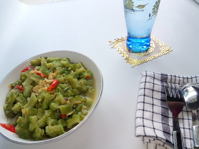 Resep rebon di campur sayuran