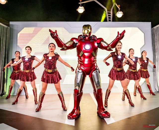 Disney, HKDL, Hong Kong Disneyland, Disney Parks, 香港迪士尼樂園, 香港迪士尼樂園度假區, 迪士尼奇妙倒數派對, Disney New Year's Eve Countdown Party, Countdown, Marvel, Iron Man, We Love You 3000