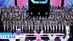 Peringkat Trainee AKB48 Team SH & SNH48 dari Hasil Vote Keempat Eliminasi TOP 60 Qing Chun You Ni 2