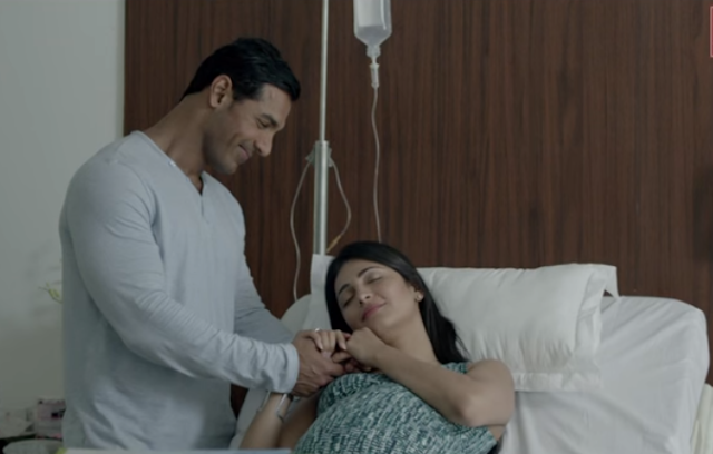 John Abraham and Shruti Haasan from the movie Rocky Handsome.