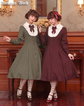 two women wearing lolita fashion