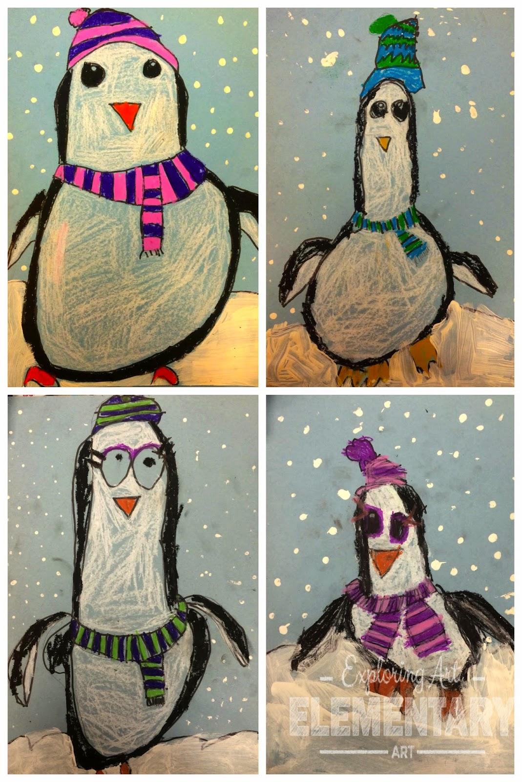 Winter Art Activities For Grade 3