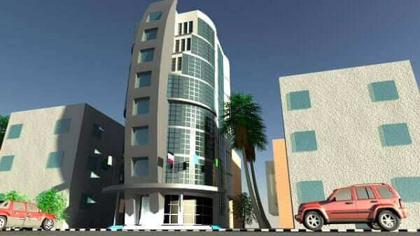 التصميم الإنشائى لمبنى سكنى