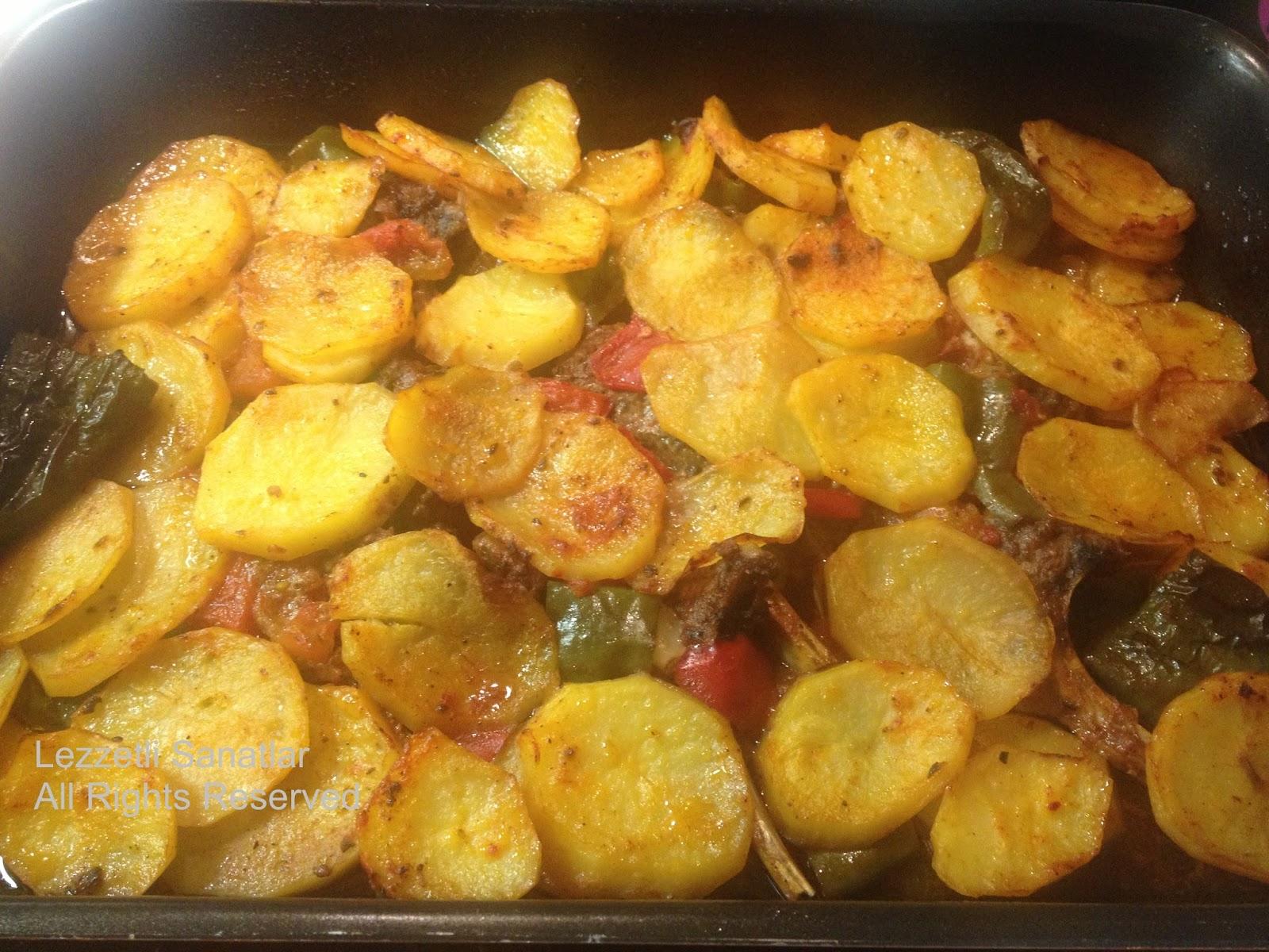 Avakado dolgulu fırında patates tarifi