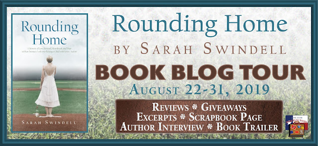 Rounding Home book blog tour promotion banner