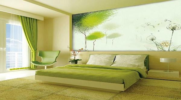 tranh trang trí phòng ngủ hợp mệnh
