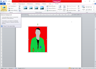 Cara Mengedit Background Foto dengan Microsoft Word 2010