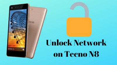 How to unlock network on Tecno N8