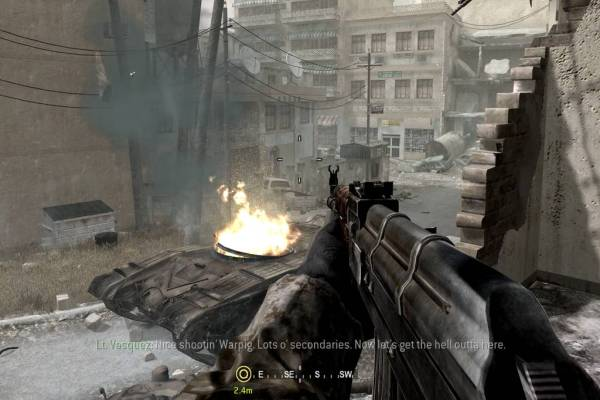 Call of Duty 4 Modern Warfare Free Download Games