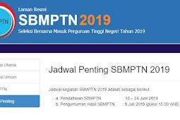 Perhatian! Pengumuman Hasil SBMPTN 2019 Dimajukan