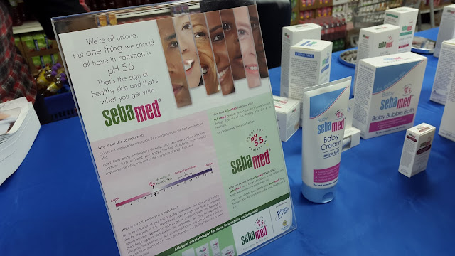 SebaMed Display - www.modenmakeup.com