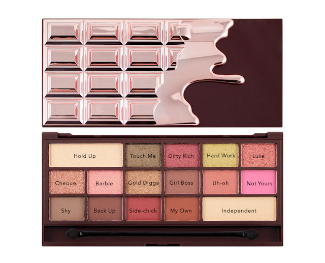 palette chocolate rose gold, i heart makeup, revolution pro, makeup revolution, revolution beauty
