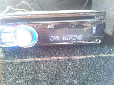 How To Fix JVC Car Check Wiring Then Reset Problem