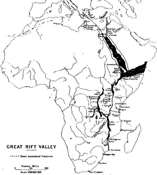 history of geology john jack walter gregory and the great rift valley Mount Vesuvius Italy john jack walter gregory and the great rift valley