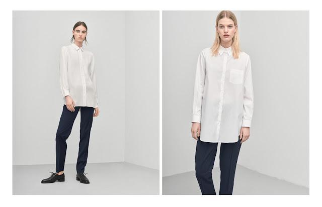 Базовая кремовая рубашка