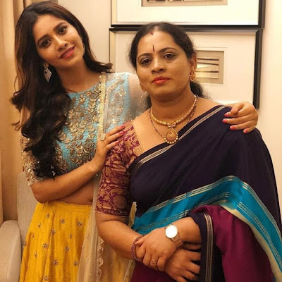 Nabha Natesh and her Mother