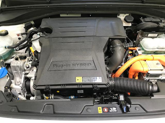 Powerplant of 2019 Hyundai Ioniq Plug-In Hybrid
