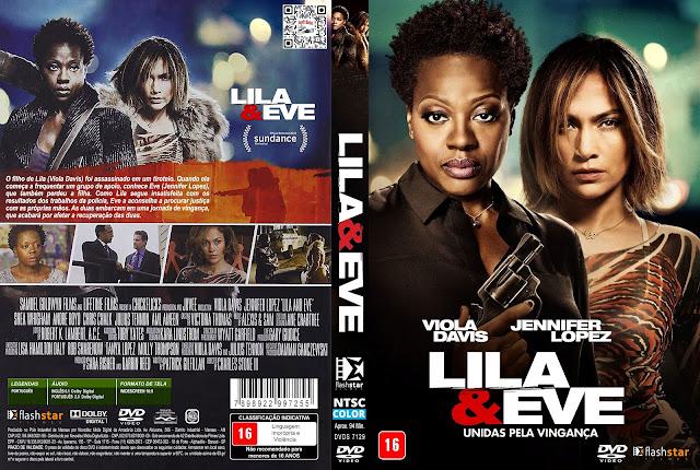 Capa DVD Lila & Eve Unidas Pela Vingança [Exclusiva]