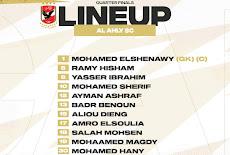 مباراة الأهلي المصري وصنداونز الجنوب أفريقي في إياب ربع نهائي دوري أبطال أفريقيا 2021.