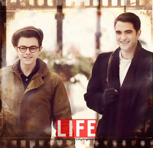 dane dehaan robert pattinson james dean life cote fangirl
