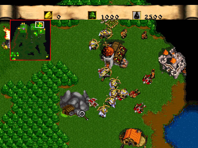 Warcraft II: The Dark Saga screenshot 1