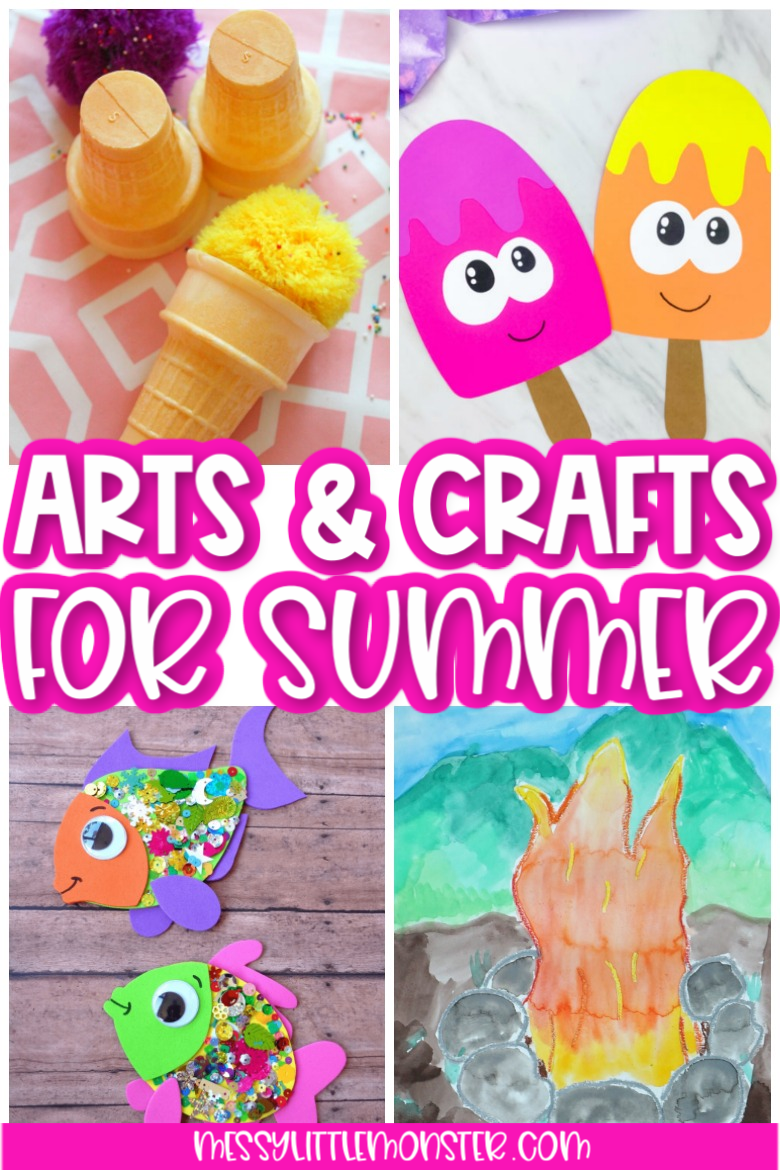 Summer arts and crafts