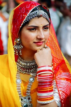 Traditional Costumes Of Rajasthan For Men And Women