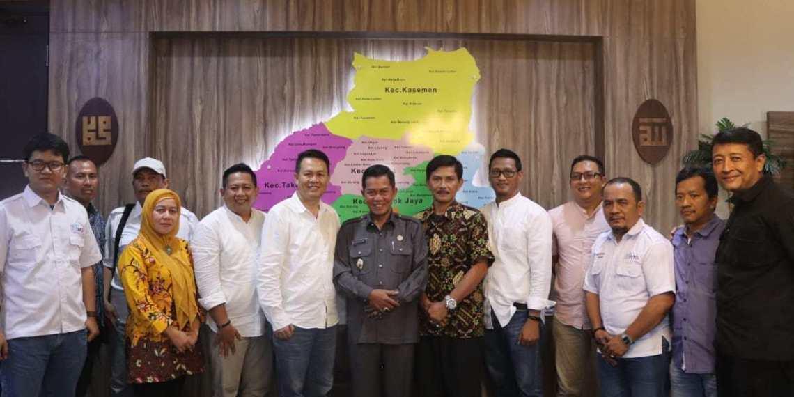 Walikota Serang Sambut Baik Kehadiran Serikat Media Siber Indonesia SMSI