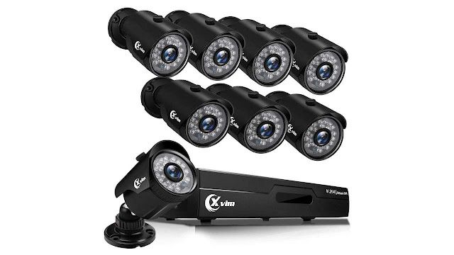 Xvim Home Wired Night Vision Security Camera