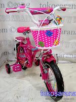 Sepeda Anak Family 12-1288 Magenta 12 Inci 2