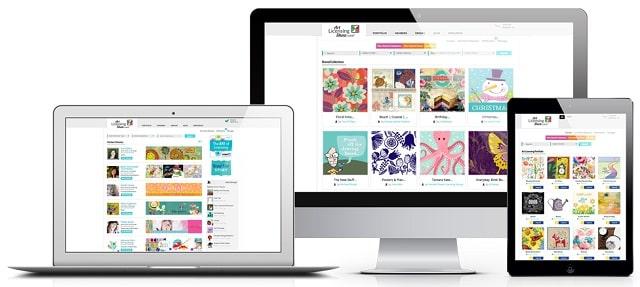 how to make an art portfolio online artist website