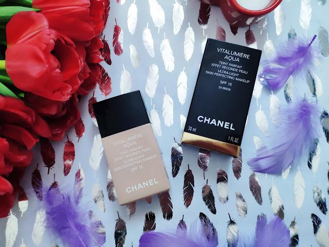 Chanel Vitalumière Aqua ultra lekki make-up nadający skórze promienny wygląd opinia