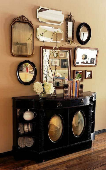 Mirror Gallery Wall Inspiration: Eye Candy | DIY Playbook