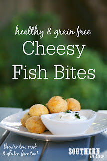 Grain Free Cheesy Fish Bites Recipe