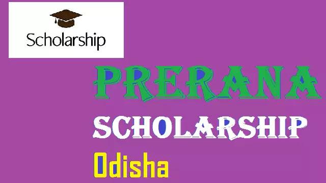 Prerana Scholarship Odisha renewal 2020-21