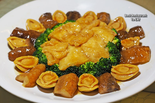 CHINESE NEW YEAR SET MENU 2020 - Braised Abalone With Sea Cucumber And Fish Maw