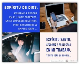 Oración al Espíritu Santo para Conseguir Trabajo - El Empleo Perfecto