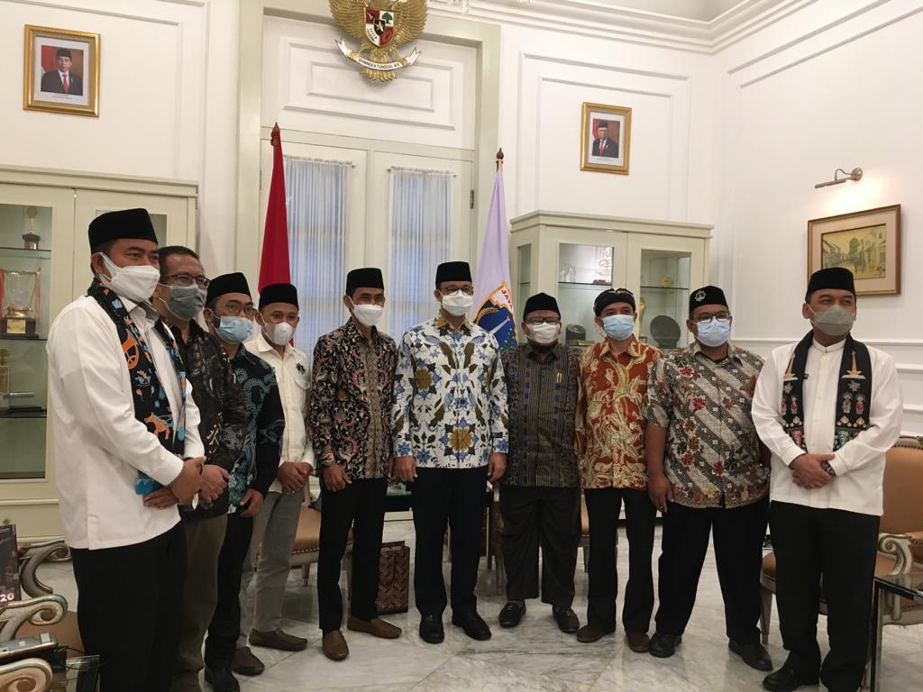 Gubernur Anies Baswedan Terima Audiensi DPW Hidayatullah DKI Jakarta
