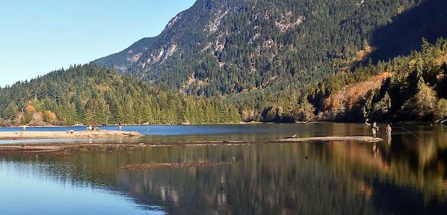Der Silver Lake bei Hope