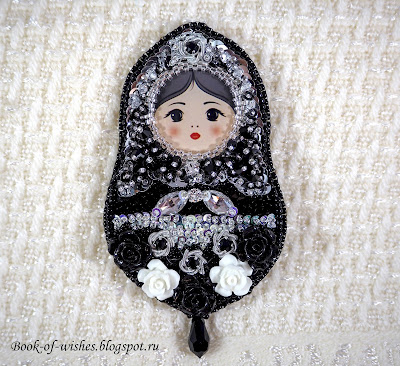 brooch matryoshka