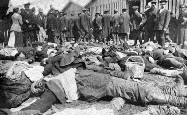 Жертвы давки на Ходынском поле