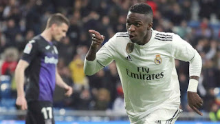 One of the real surprises of Julen Lopetegui's time in charge of Real madrid was the lack of minutes given to Vinicius, yet as of Wednesday evening the Brazilian is the new king of the Estadio Santiago Bernabeu.