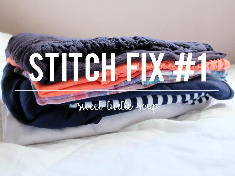 Sweet Turtle Soup - Stitch Fix Review #1