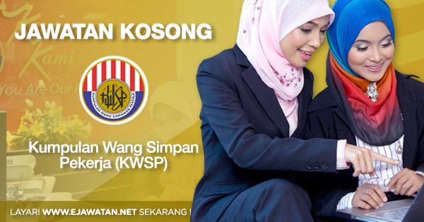 jawatan kosong KWSP 2020