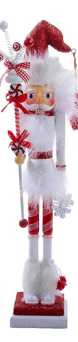 "Target Hollywood Candy Swirl Slim Nutcracker 19"""