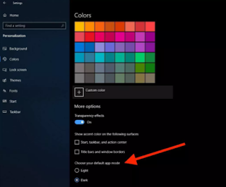 How to Activate Dark Mode Windows 10