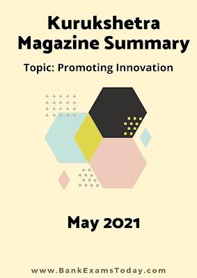 Kurukshetra Magazine Summary: May 2021